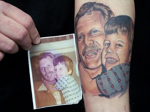 Memorial Tattoos: Why I Don't Have My Father's Name Tattooed