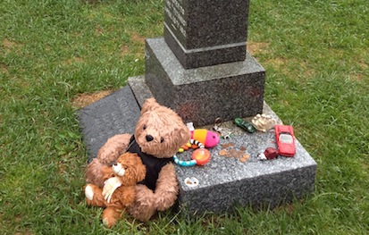 Visiting The Grave Of A Child Can Be Particularly Painful Placing Toy Or Stuffed Animal At Headstone Real Comfort