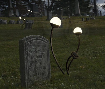 Many Companies Have Created Solar Lights That Can Be Attached To The Headstone Illuminate Grave At Night These Come In A Variety Of Shapes