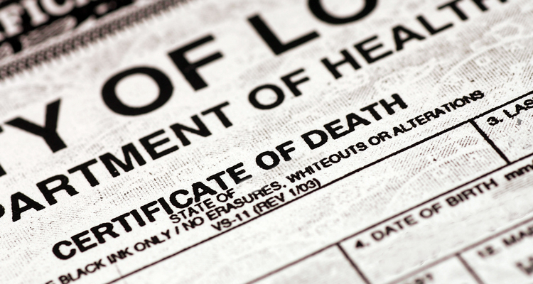 idaho death certificate | everplans