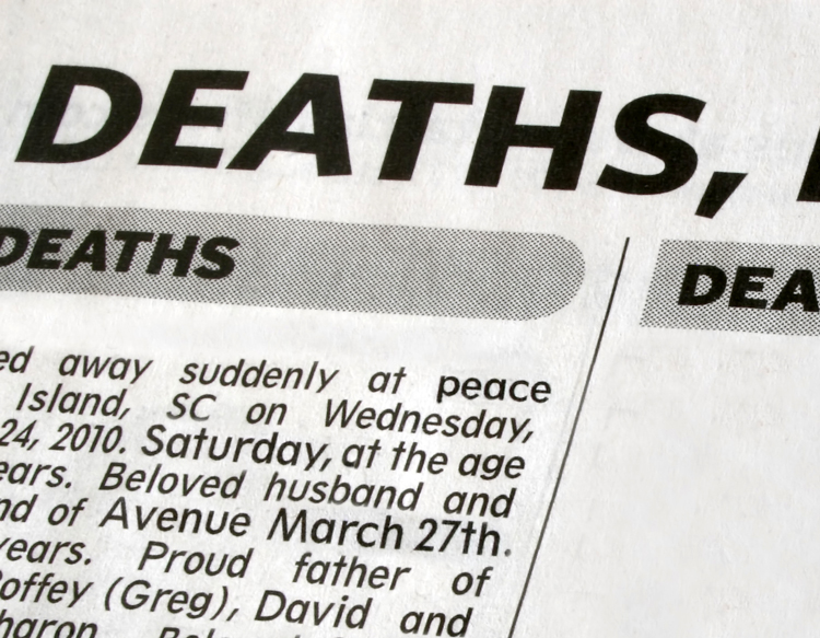 death notice templates and obituary templates everplans