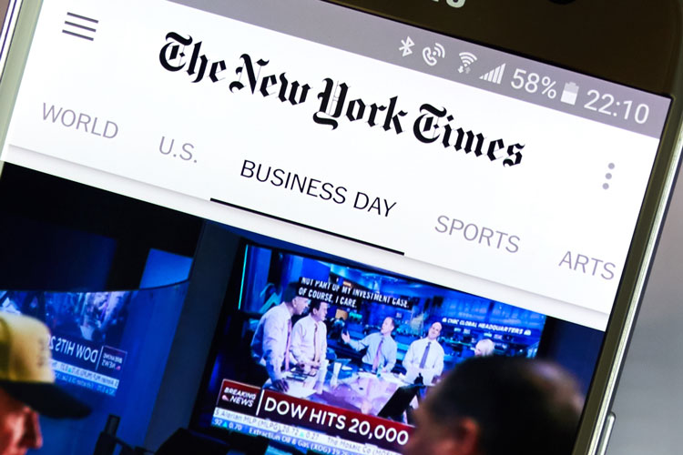 new york times mobile app