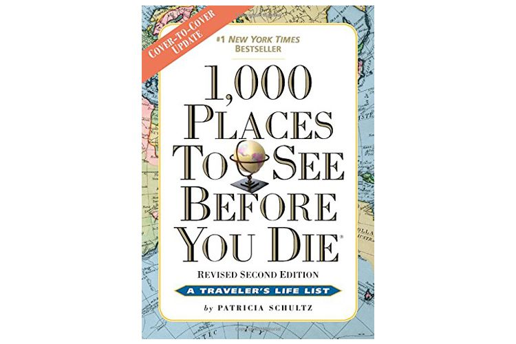 1000 places to see before you die book