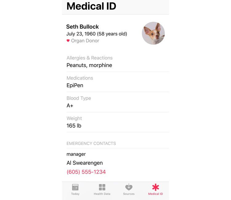 apple medical id