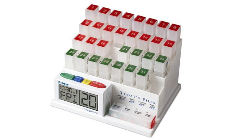 automated pill and medication dispenser