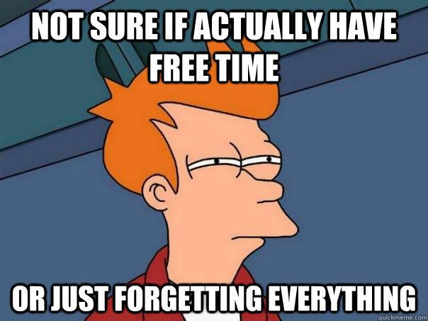 futurama free time or forgetting everything