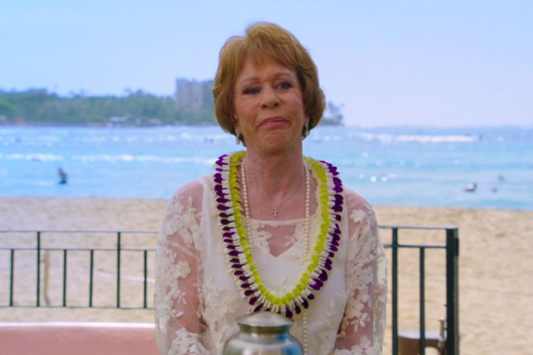 carol burnett mourning on Hawaii Five-0