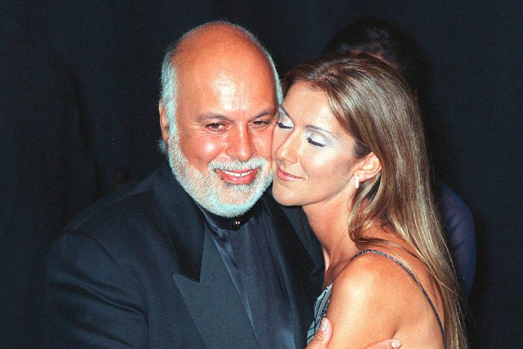 celine dion with husband rene angelil