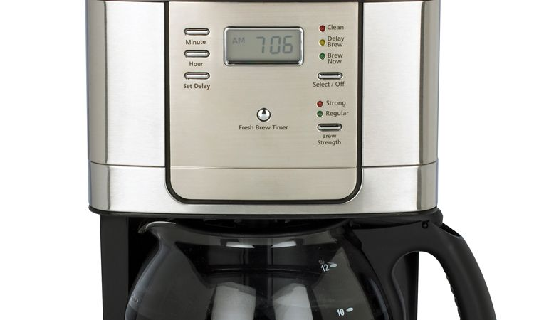 coffee maker timer