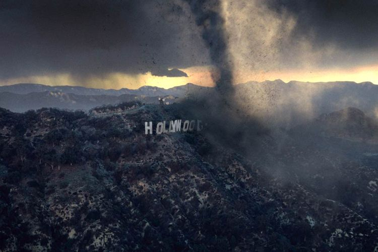The Day After Tomorrow hollywood sign