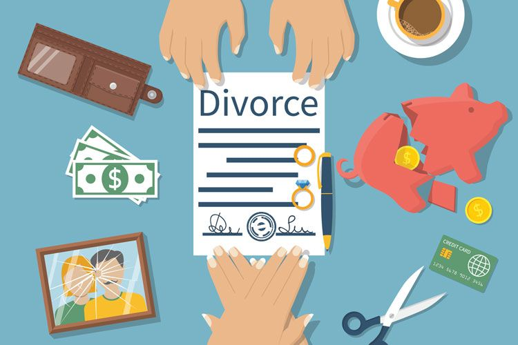 divorce illustration