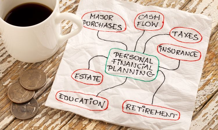 personal financial planning napkin