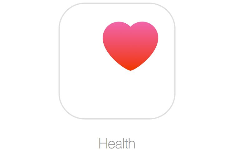 iOS health app icon