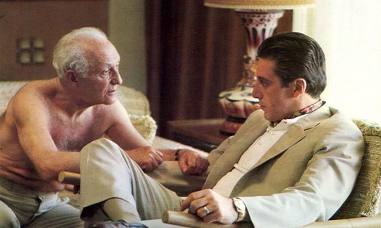 hyman roth michael corleone good health