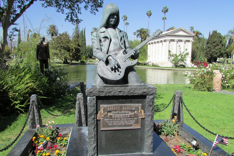 johnny ramone grave site