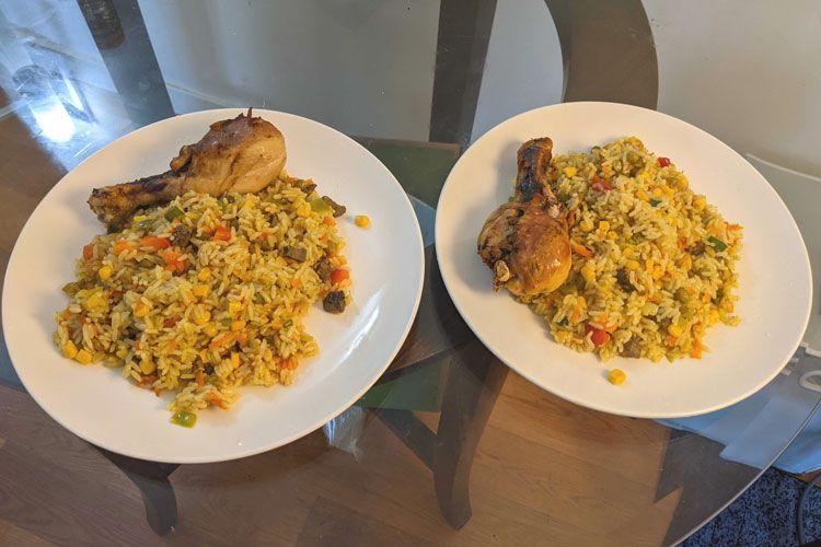 kay chicken and rice