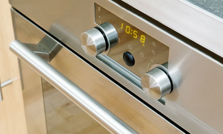 oven with digital display