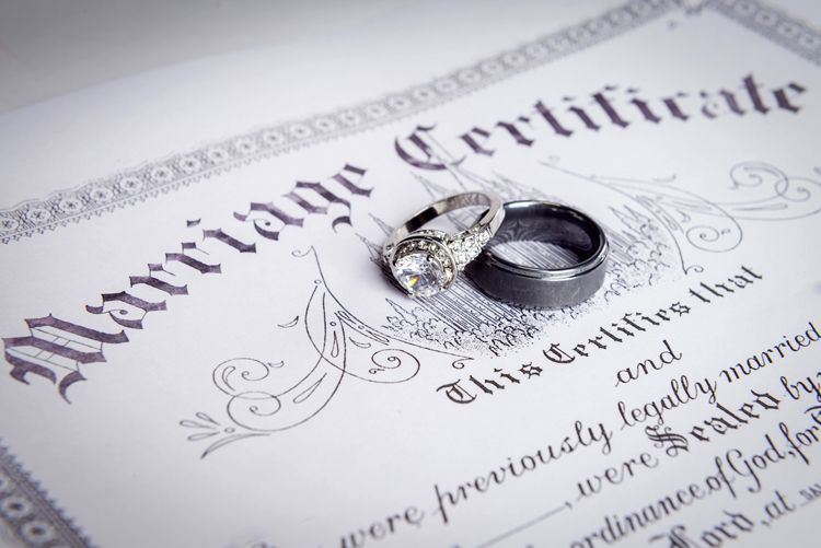 Just Married Newlywed Estate Planning Cheat Sheet Everplans