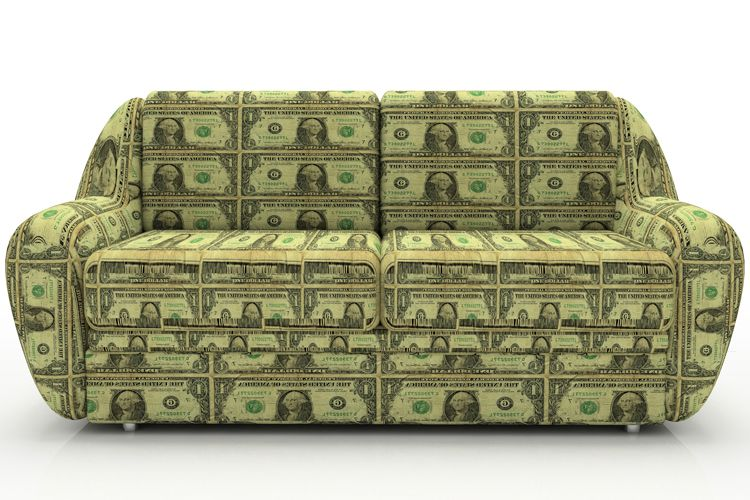 money couch