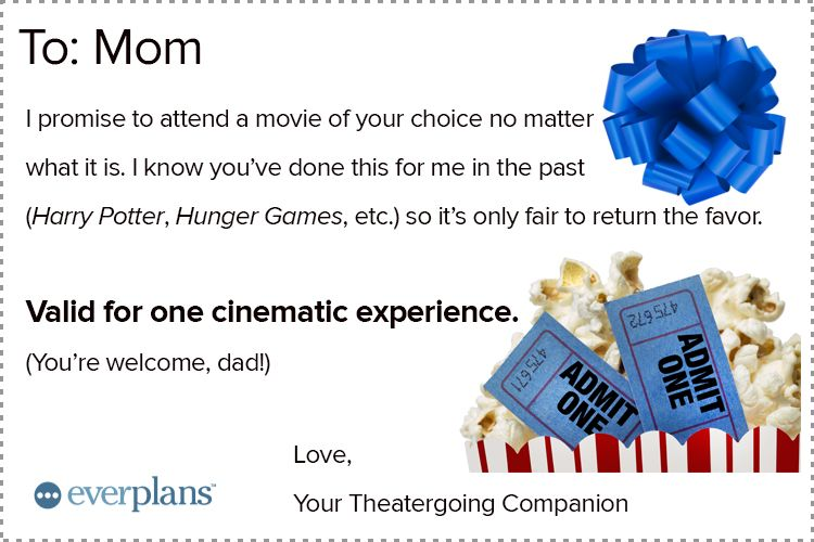 mothers day card teen movie