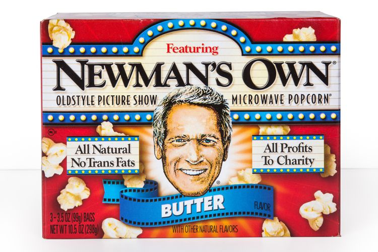 newmans own popcorn