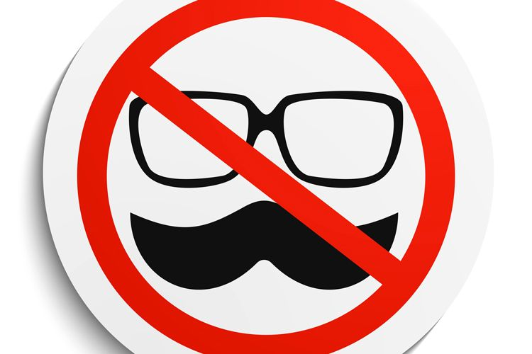 no mustaches