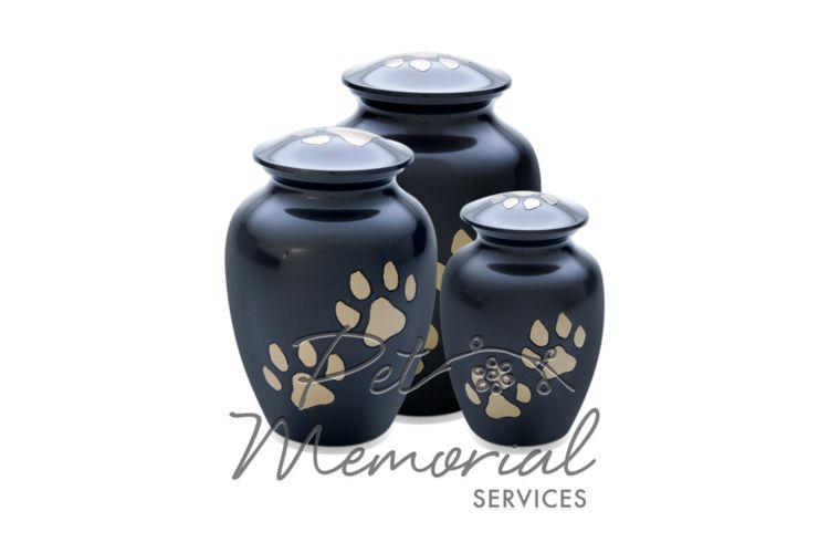 pet memorial services paw urn