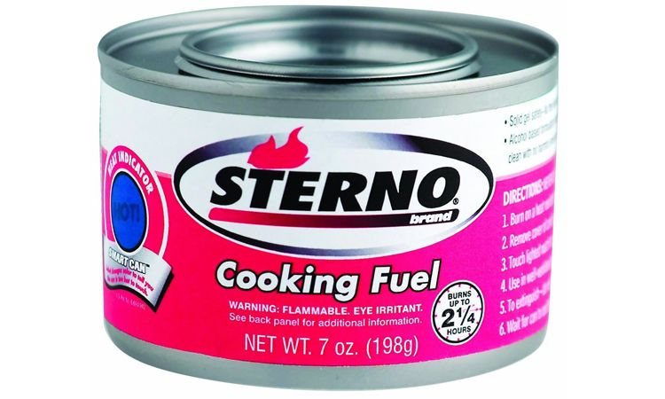 Can of Sterno
