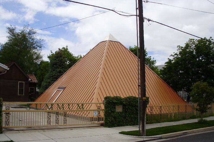 summum pyramid in salt lake city