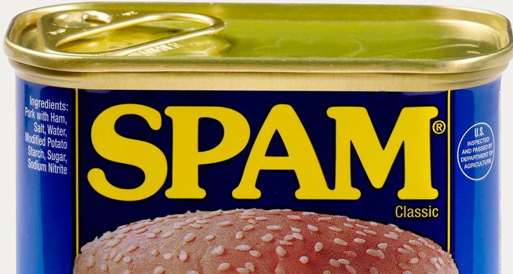 tin of spam