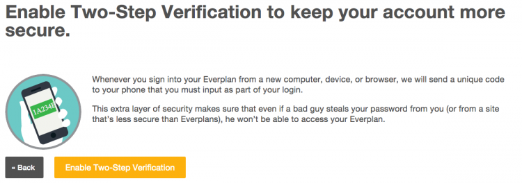 two step verification step 2