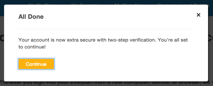 two step verification step 6