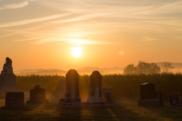 cemetery sunrise pre-purchase burial products