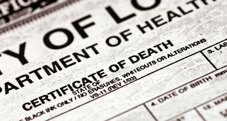 Washington, D.C. (District of Columbia ) Death Certificate | Everplans