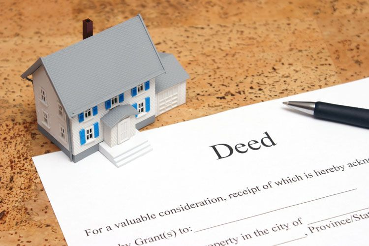 deed to house