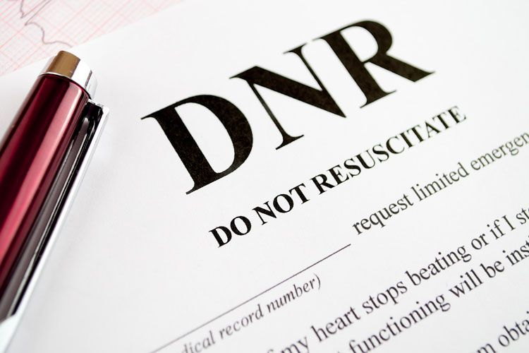 A Do Not Resuscitate (DNR) Order Is A Legal Order Written In A Hospital Or  In Conjunction With A Doctor That States That You Do Not Want  Cardiopulmonary ...