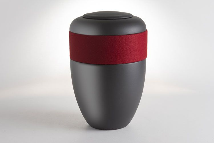 gray urn red band religious creamtion perspectives