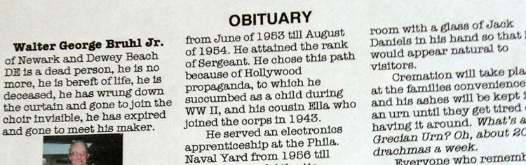Guide: Filing A Death Notice Or Obituary | Everplans