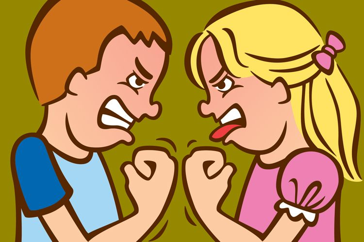 sibling rivalry illustration