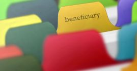 beneficiary folder tab