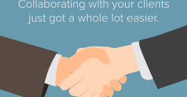 Collaborating with your clients just got a whole lot easier.
