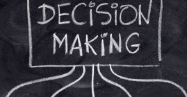 decision making chalkboard