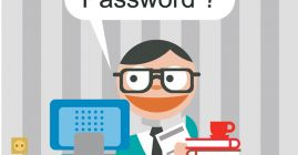 he could use a password manager