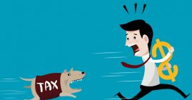 outrun the tax dog