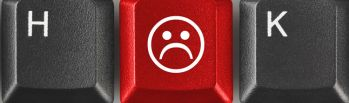 keyboard frowny face